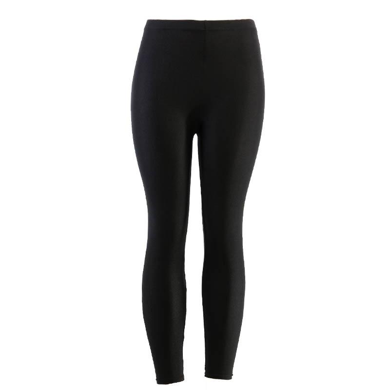 4b21e3c9f 2019 Yesello Black Solid Fluorescent Leggings Women Casual Plus Size  Multicolor Shiny Glossy Legging Female Elastic Pant From Bigseaa, $29.55 |  DHgate.Com
