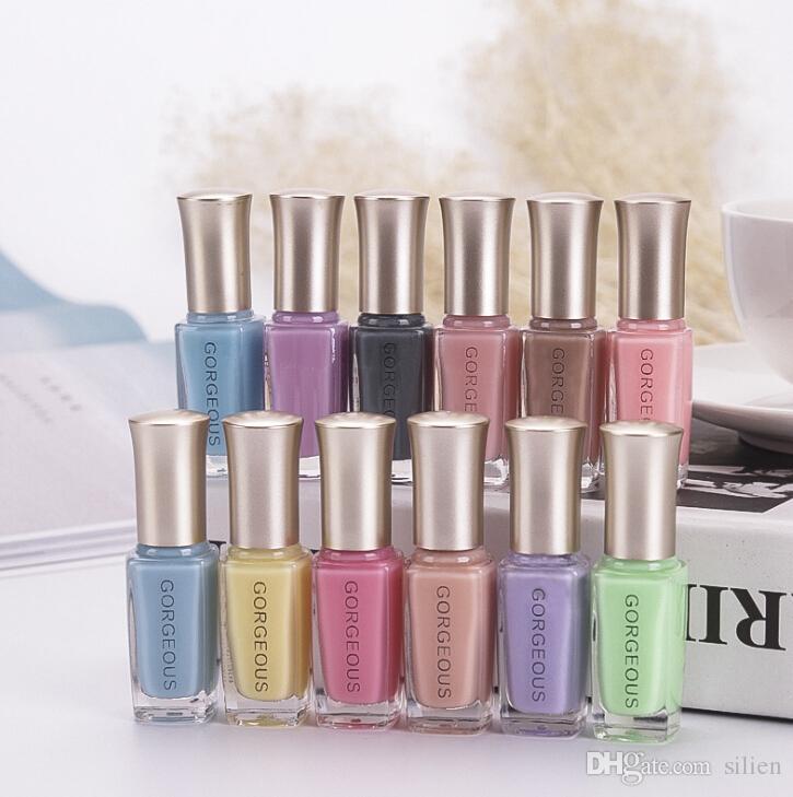 Wholesale 10ml Jelly Nail Polish Fashion Girl Nude Color Nail Oil ...