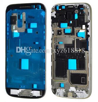6d8e96996fc Fundas De Silicona Para Celulares Original Nuevo Bisel Del Marco De La  Vivienda Frontal Para Samsung Galaxy S4 Mini GT I9195 I9190 Plato Medio  Placa Frontal ...