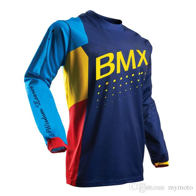 2018 New Arrive Ciclismo Jeresy Downhill Jersey MTB Offroad Long ... c91395e8c