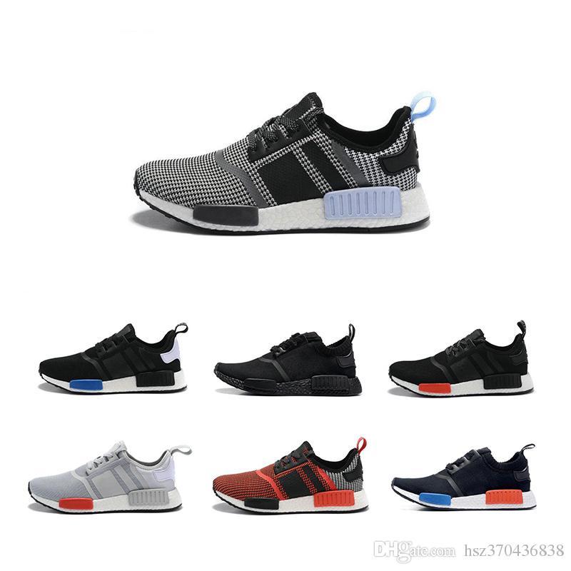 8ec230920 Wholesale Cheap NMD R1 R2 Primeknit Runner PK Hot Sale 2017 Men s   Women s  Classic Cheap Fur Sneakers Fashion Sport Running Shoes With Box Sport Shoes  ...