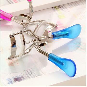 hot sale Fashion Hot Ladies Makeup Eye Curling Eyelash Curler Eyelash Curler Clip Beauty Tool Stylish