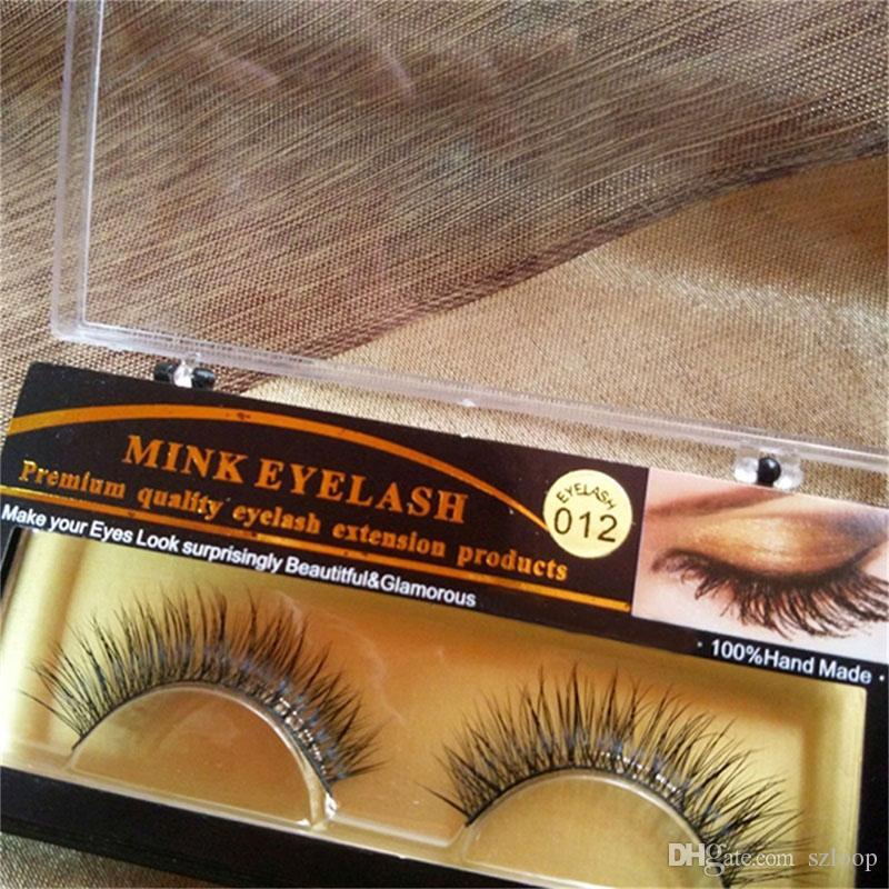 3D Vizon Yanlış kirpik 15 Stilleri El Yapımı Güzellik Kalın Uzun Yumuşak Vizon Kirpikler Sahte Göz Lashes Kirpik 3001081