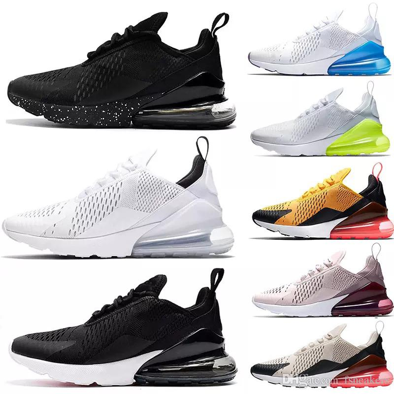 fd36859ec92b95 New Arrivals French Champion 270 Men Shoes Maxes Black White Cushion Triple  Mens Sneakers Fashion Air Athletics Trainers Running Shoes Canada 2019 From  ...