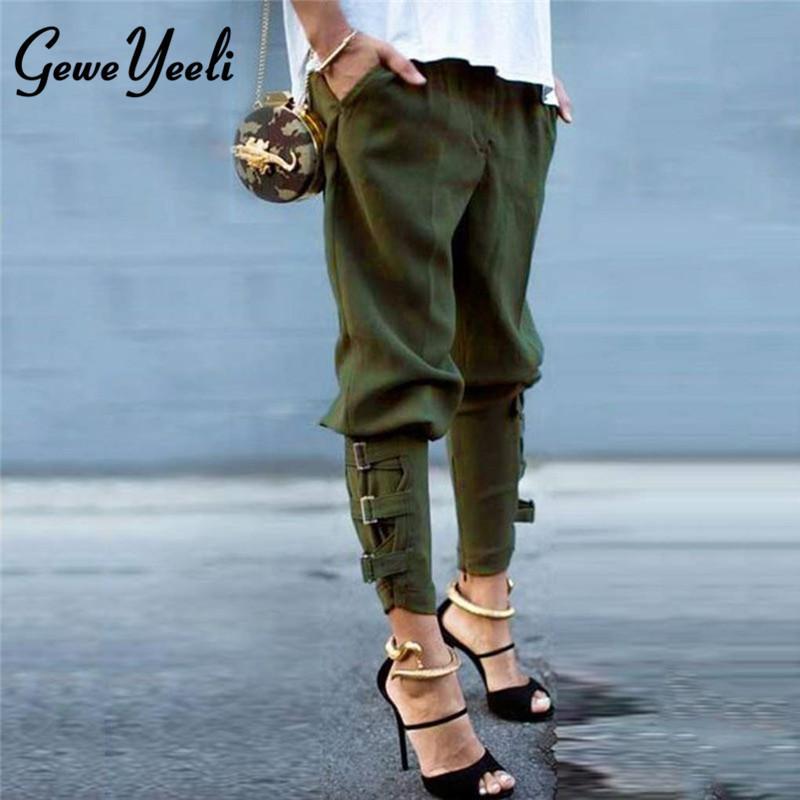 d56748dc5 Harajuku Hip Hop Cargo Pants Streetwear Women Street Style Pantalon ...