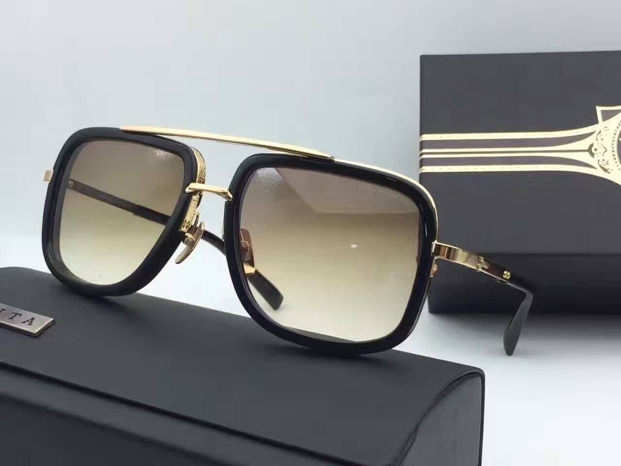 Großhandel 2018 Heiße Neue Männer Marke Designer Sonnenbrille Titan ...