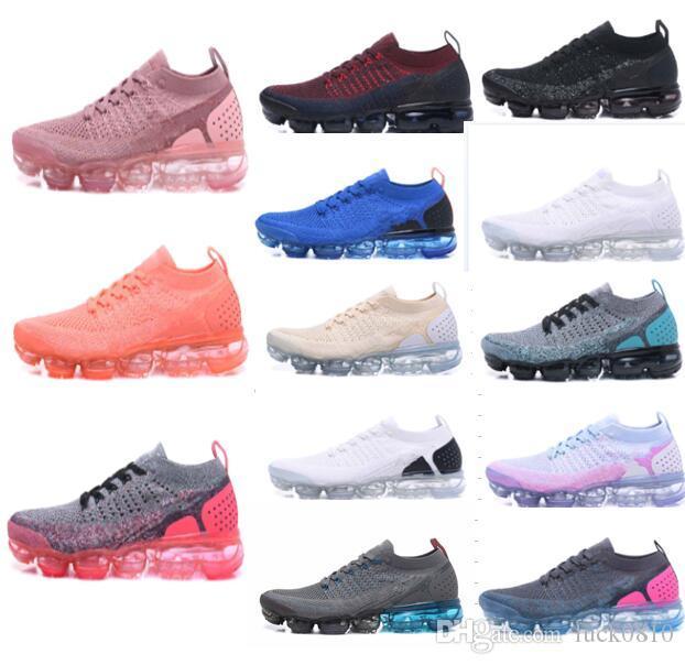 Designer 2 Cushion Mens Trainers Shoes 2018 2.0 Neue Herren Damen grau rosa blau cs Bsreathe Knit Sneakers v2 Sport Laufschuhe