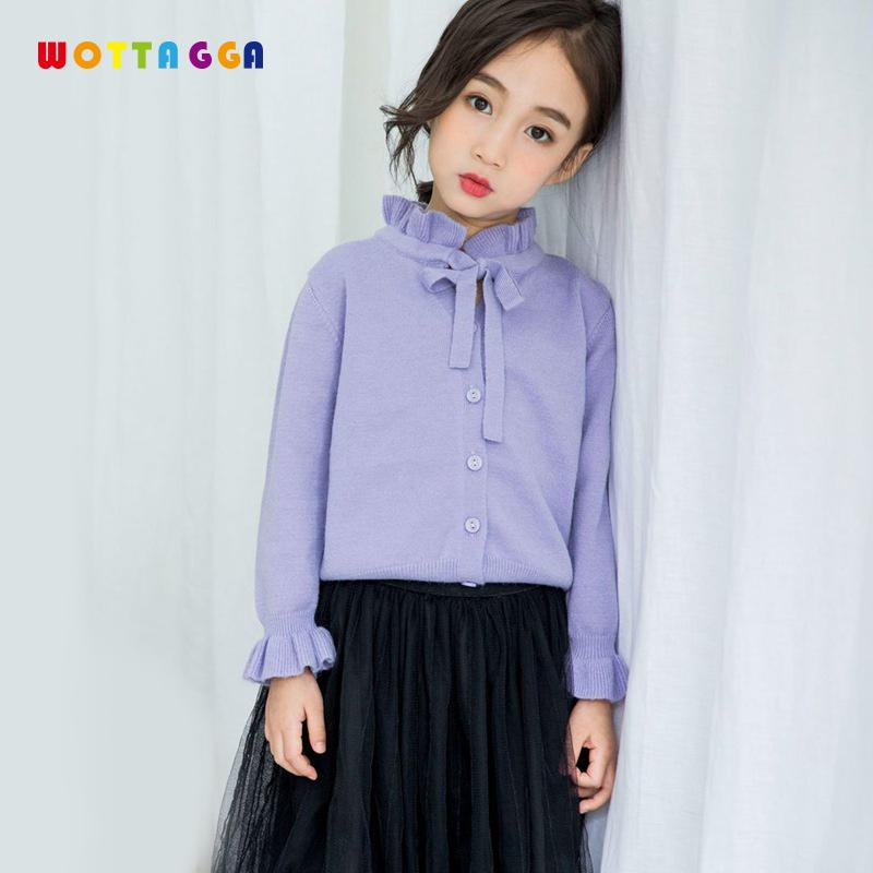 Wottagga New 2018 Autumn Fashion Sweaters Kids Clothes Children