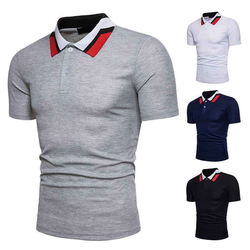Polos respirants à manches courtes Jeansian Casual homme KU6lKqHb