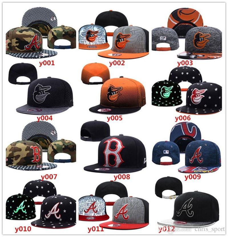 Compre Venta Al Por Mayor Todos Los Equipos Gorras De Béisbol Sombreros De  Bordado Gorras Snapback Sombreros Ajustables Para Hombres Huesos Snapbacks  A ... 3730b6089b6