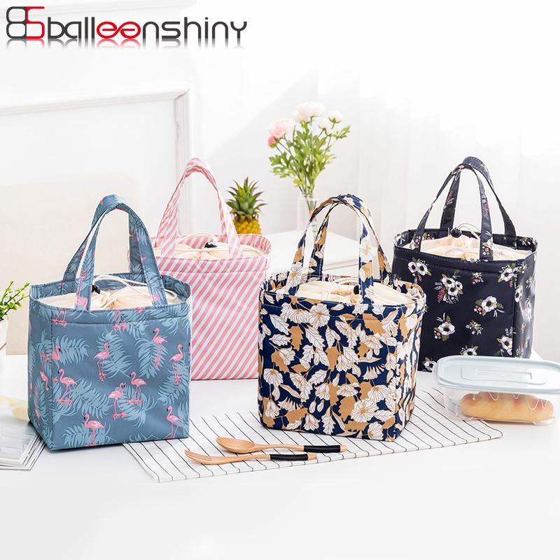 dfdc4f9d8c 2019 BalleenShiny Storage Bag Fancy Cold Insulation Package Waterproof  Convenient Portable Lunch Bag Ice Pack Meal Package Oxford From Huayama