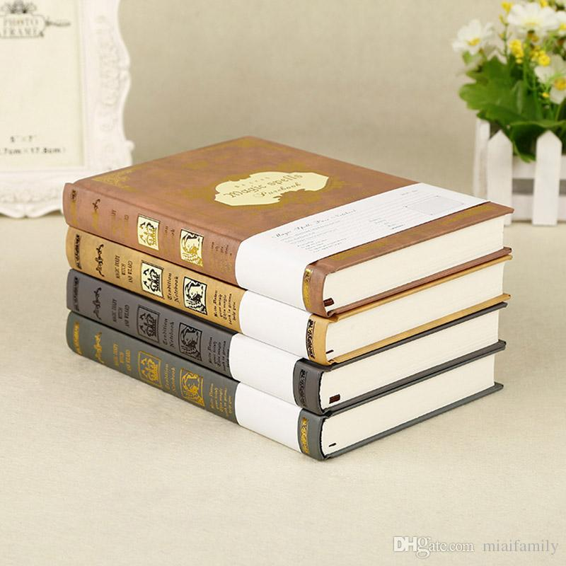 Merveilleux 2018 Vintage Magic Spells Diary Kraft Paper Notepads Harry Potter Stationery  Travel Journal Business Notebooks Fashion Student Notes Book From  Miaifamily, ...