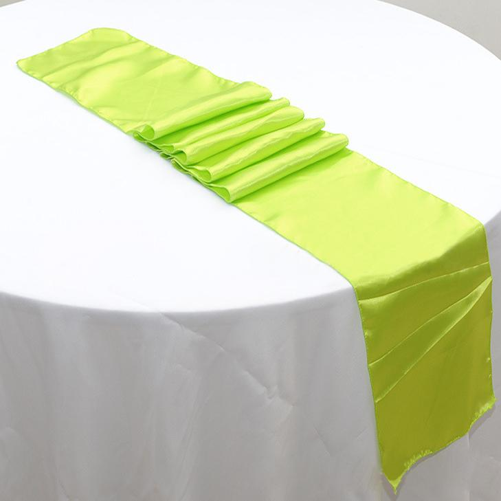 50pcs 30 X 275cm Lime Green Cheap Banquet