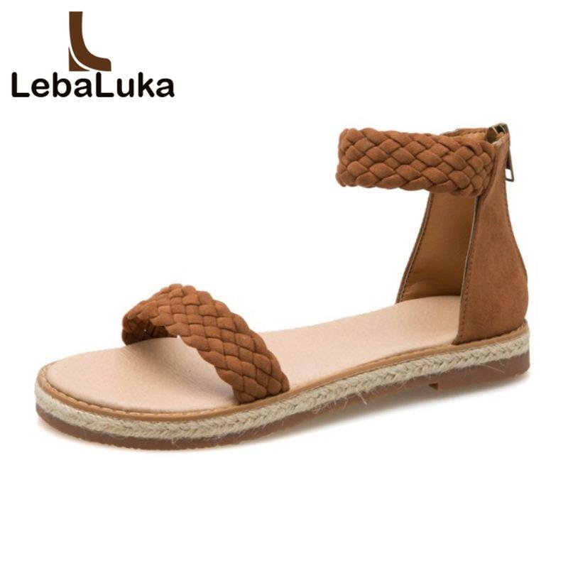 d819714b8 Wholesale Fashion Women Flats Sandals Open Toe Zipper Fishermen Sandals  Summer Vacation Leisure Shoes Women Footwear Size 35-39 Shoes Woman Woman  Shoes ...