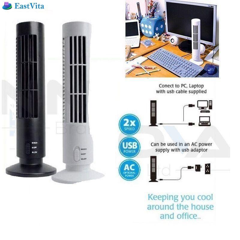 Großhandel Eastvita Portable New Usb Vertikale Blattloser Ventilator Mini  Klimaanlage Lüfter Schreibtisch Kühlturm Für Home Office 5 V 2,5 Watt Pc  Ar25 Von ...
