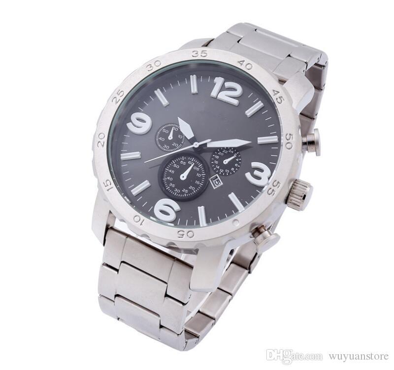 66efc4325b19 Relogio Masculino Mens Watches Luxury Dress Designer Fashion Black ...