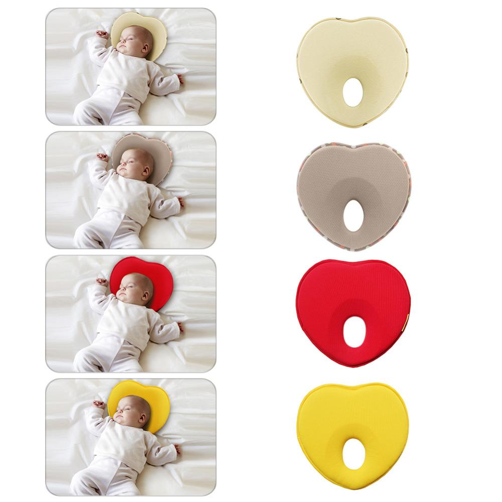 Heart Shape Baby Pillow Prevention Flat Head Syndrome