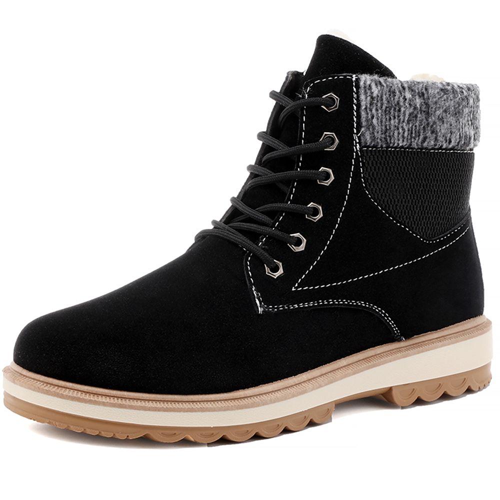 4db88d13913 Compre Botas De Nieve Para Hombre De Invierno De 2018 Zapatos De Algodón Para  Hombre Botas De Algodón De Martin Moda Y Botas Cómodas De Alta Calidad A ...