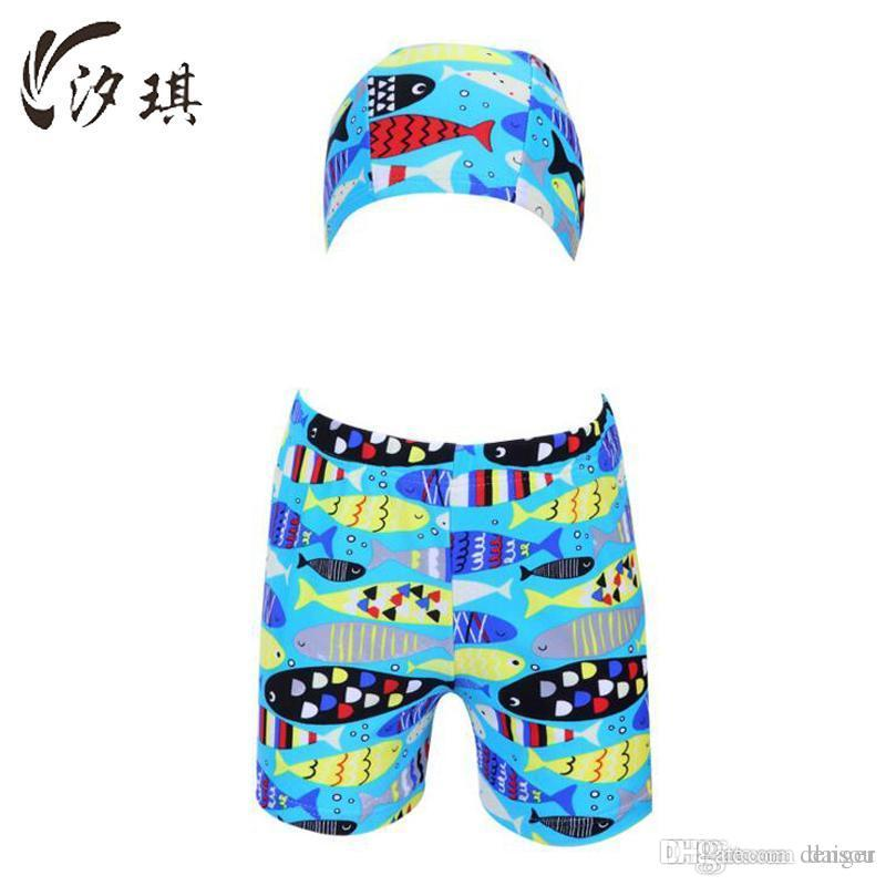 5f2bf3892a Xiqi Boys Swimwear Shorts 2017 Kids Bathing Suit Boy Swimming Trunks ...