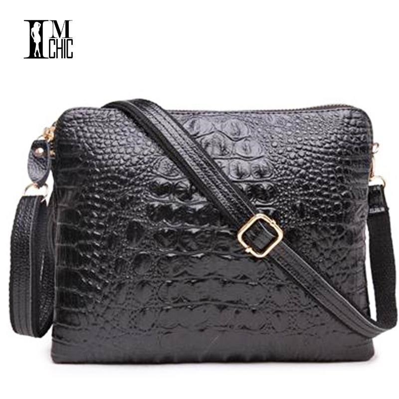bcd41b5aee37 Vintage Crocodile Ladies Leather Bags Lux Split Cowhide Tablet Clutch Bag  Sexy Female Crossbody Shoulder Designer Handbags Girl Y1892506 Cheap  Designer Bags ...