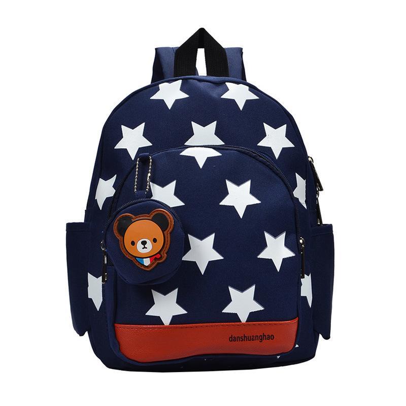 Toddler School Bag Cute Cartoon Bear Kindergarten Kids Casual Waterproof  Nylon Children Backpacks For Baby Girl Boy 3 6Y Cheap Brand Backpacks All  Backpack ... 429ea47fd0e61