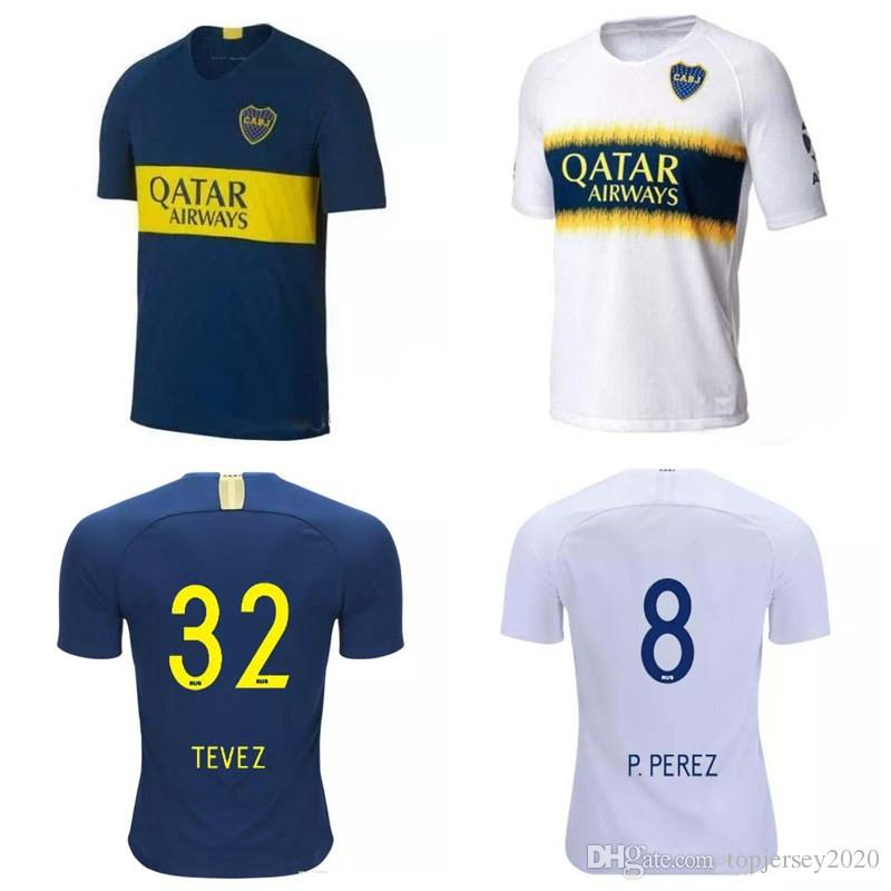 6cff2bb45 Thai 18 19 Boca Juniors Soccer Jerseys ROSSI PEREZ Football Shirt ...