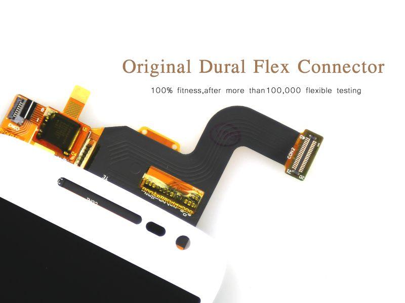 Motorola Moto G4 Oynamak için XT1603 XT1601 XT1604 XT1602 LCD Ekran Dokunmatik Ekran Digitizer Meclisi Değiştirme, ücretsiz kargo