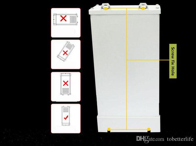 비 방수 12V LED 전원 공급 변압기 400W 주도 드라이버 어댑터 AC 90V-250V LED 전원 공급 장치 모듈 스트립 빛에 대 한