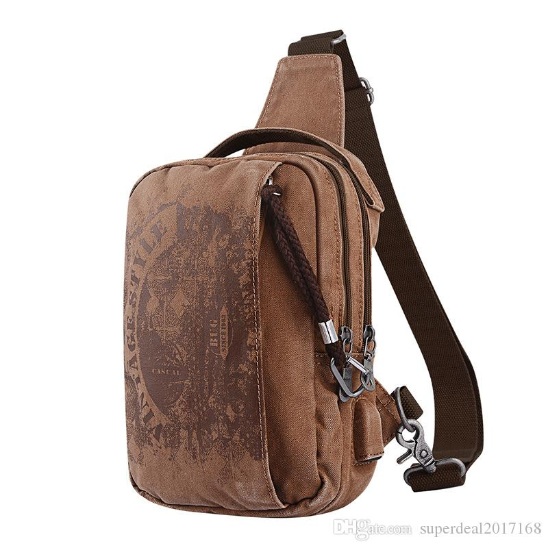 552d920a47be New Sling Bag Canvas Chest Pack Men Military Messenger Bags Casual ...