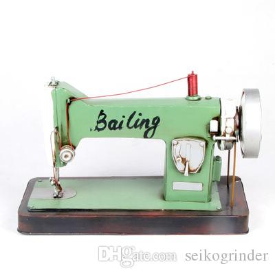 Mettle Hot Sale Iron Old Style Sewing Machine Model Iron Metal Craft Simple Button Sewing Machine For Sale