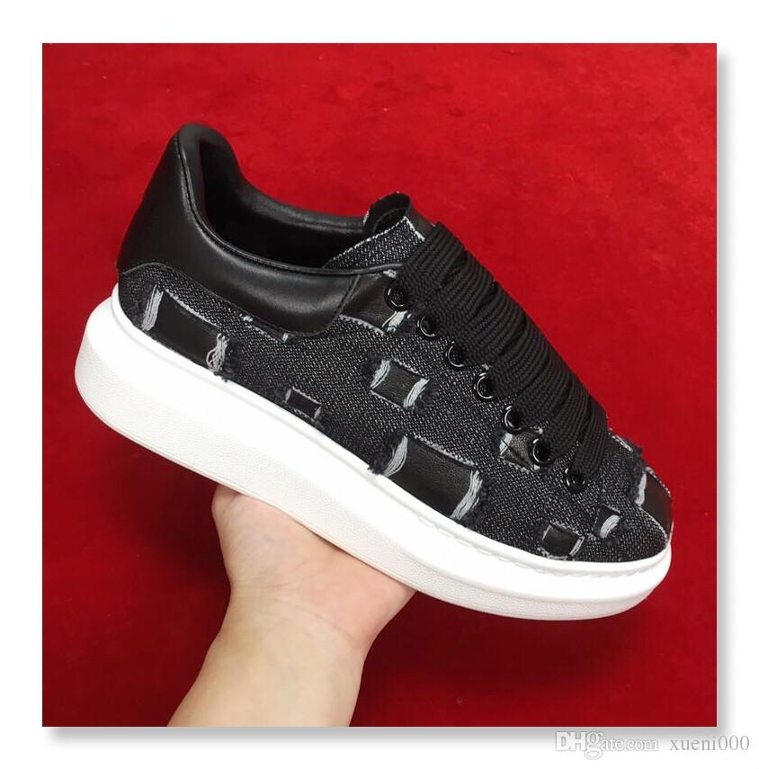 9edcb7792c7 NEW Luxury Brand Chain Reation Leather Casual Shoes Women Designer ...
