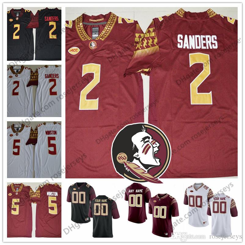 purchase cheap 31a43 fa5aa seminoles 2 deion sanders red limited stitched ncaa limited ...