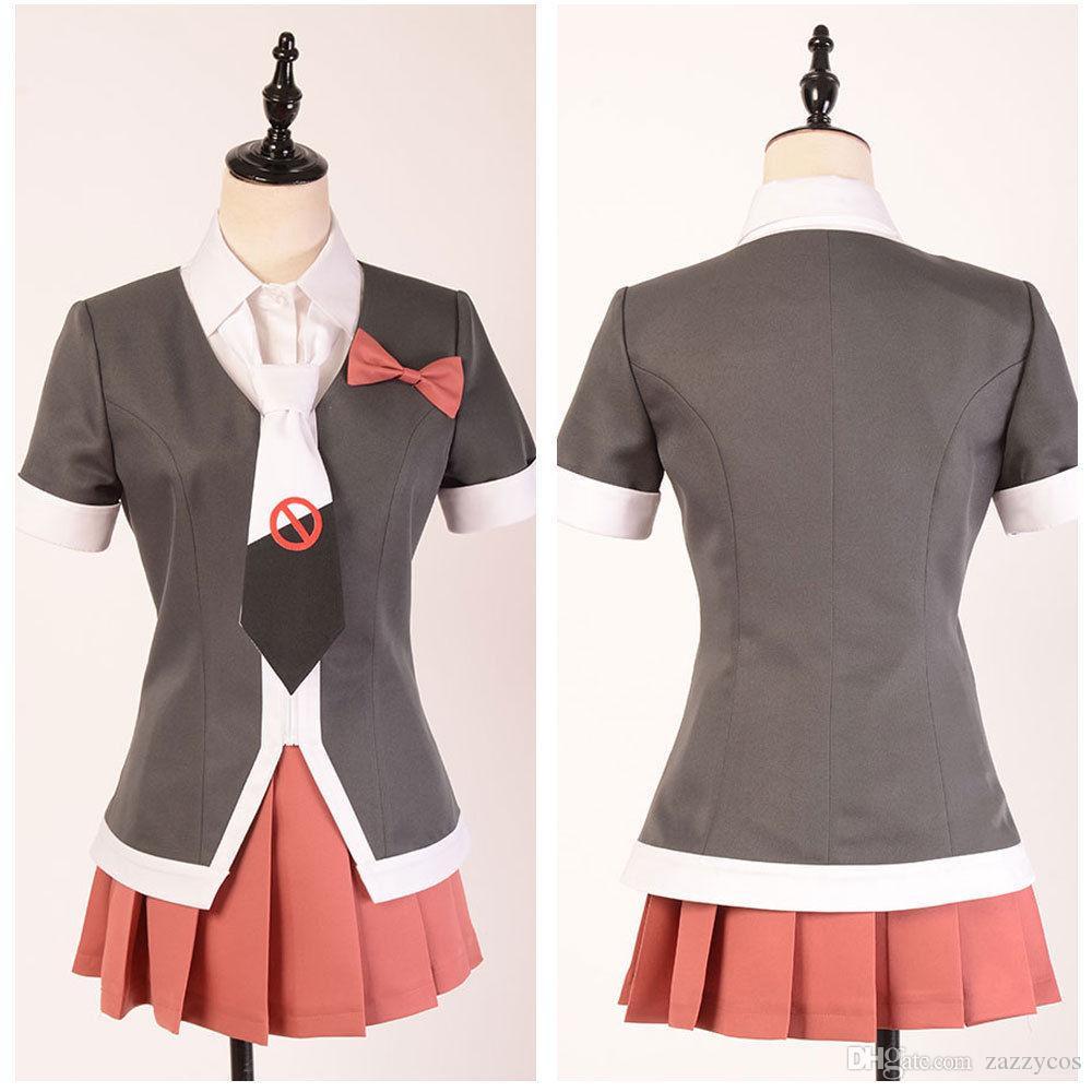 Großhandel Danganronpa Dr3 Monaca Towa Cosplay Kostüm Schuluniform Anzug  Kleid Von Zazzycos,  84.27 Auf De.Dhgate.Com   Dhgate d1615a36d5