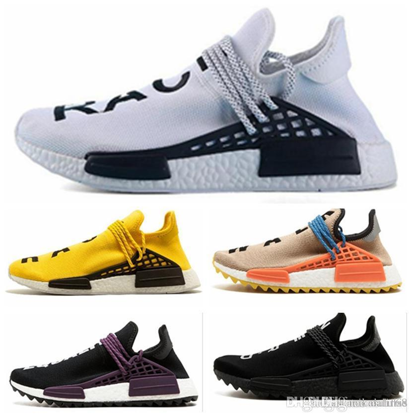 5ae907e644fbf NMD Human Race TR Men Casul Shoes Pharrell Williams Nmds Human Races  Pharell Williams Mens Womens Trainers Sports Sneakers 36 45 Clogs For Women  Shoe Boots ...