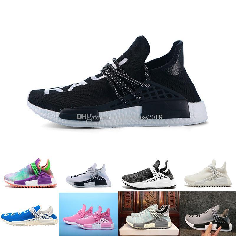 22fb524ec 2018 Human RACE Running Shoes Pharrell Williams NMD Trail Mens Women ...