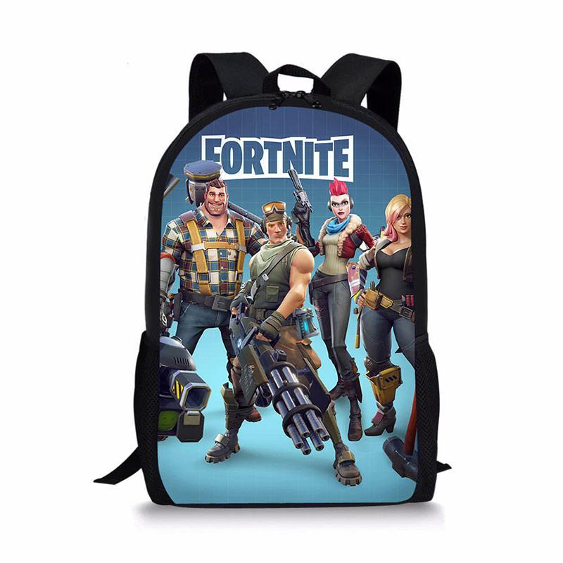 9ea70fb8b0ba NOISYDESIGNS Children School Bags For Teen Boys Girls Kids Book Bags  Fortnite Game Character Printing School Backpack Waterproof Rucksack Girls  Backpacks ...