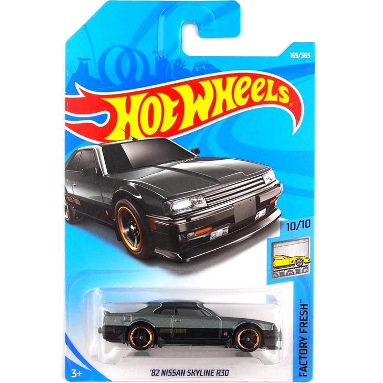 2019 Hot Wheels Black Skyline R30 Car Model Toy 169 From Qiaoming