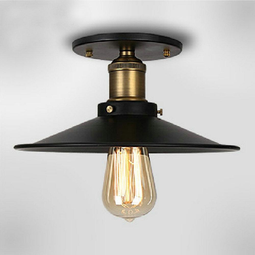 2018 110v220v loft vintage ceiling light fixtures e27 one bulbs iron lamp edison vintage industrial lighting from lightlight 37 14 dhgate com