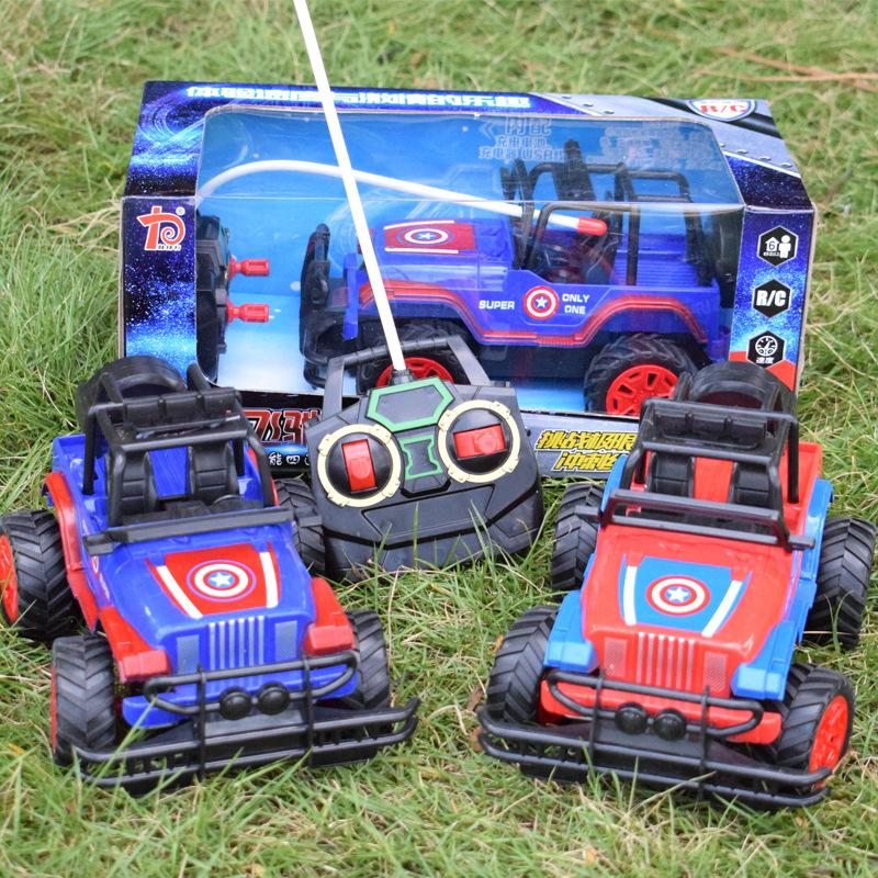 New Charging And Cross Country Car Remote Control Toys Boys Jeep Car