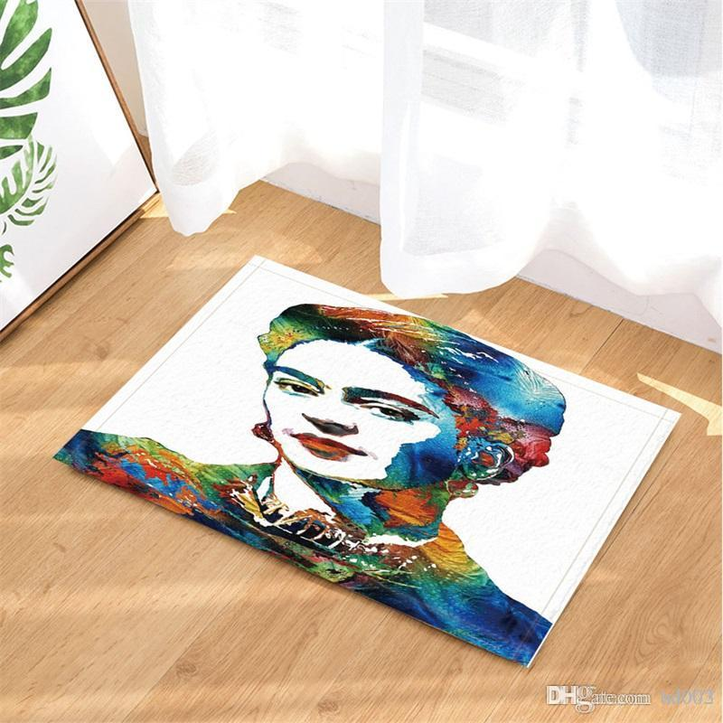2018 Frida Kahlo Shower Curtain Water Proof 3D Digital Home Decoration Printing Bathroom Accessories With Hooks Practical Small 33mb3 Cc From Bd003