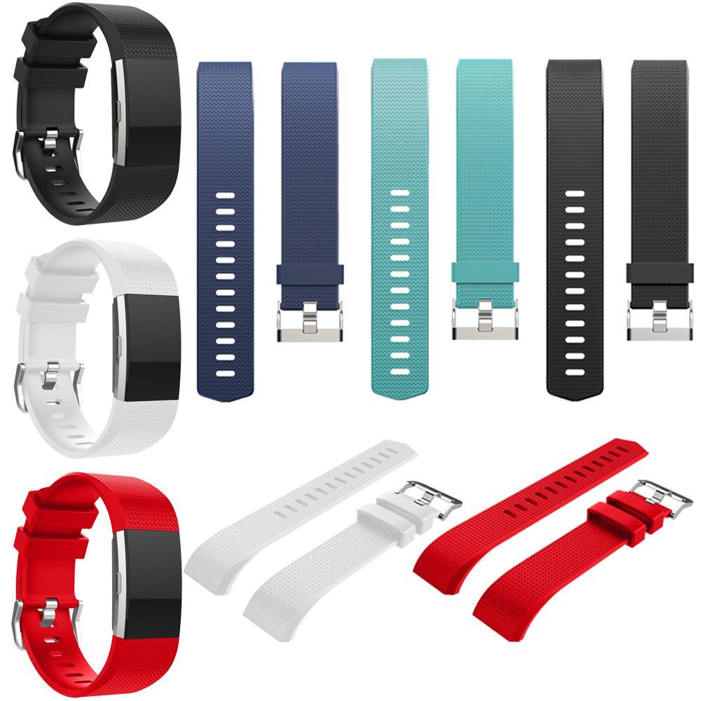 e90a0d7d169b Gosear correa de reloj de pulsera de reloj de silicona de reemplazo Band  Bande Band para Fitbit Charge 2 Charge2 pulsera de reloj accesorio