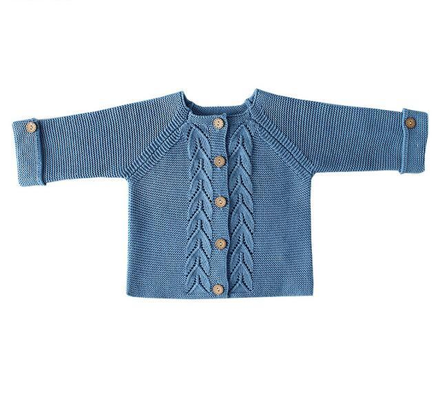 bc0f72626 2018 Baby Boys Sweaters Solid Baby Girls Clothes Knitted Sweater for ...