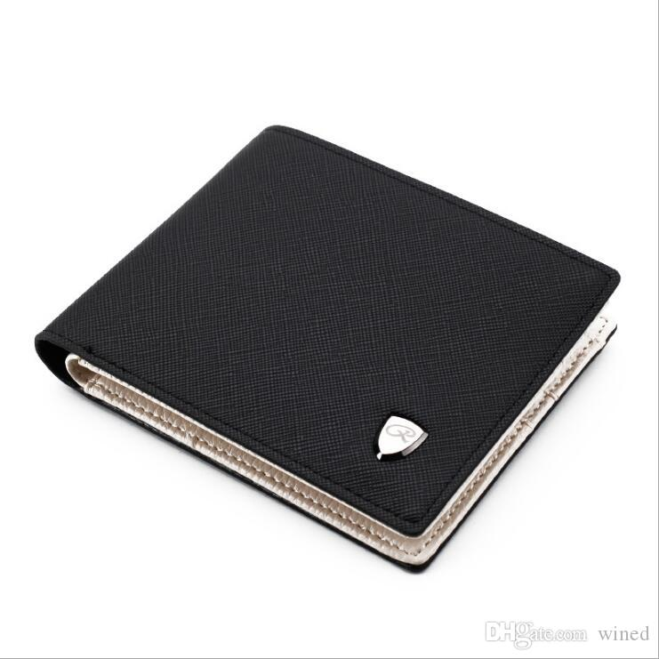 757bf061340a61 2018 New Hot Brand Men Short Wallet, Classic Fashion Male Patchwork ...