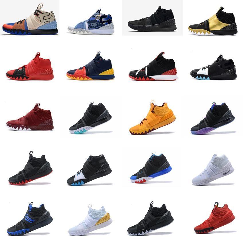 b0c5087658e Cheap Men What the Kyrie S1 Hybrid Basketball Shoes Black Blue Team ...