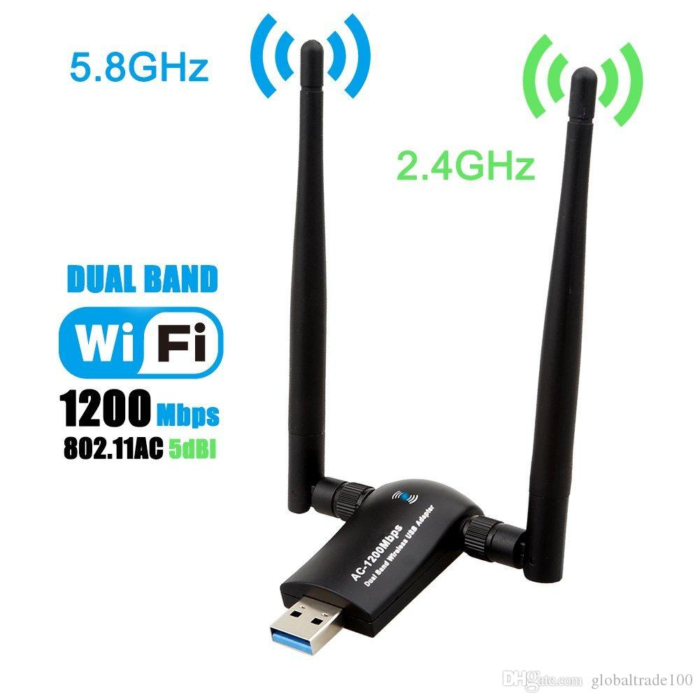 Usb Wireless Wifi Receiver2 4ghz Mini 300m 5db Rtl8192eu Network Adapter Chipal 150mbps External Antenna Dongle Lan Card 80211n G B For Windows Xp Vista Win7 Win8 1200mbps Dual Band 30 24ghz 300mbps 5ghz 867mbps High