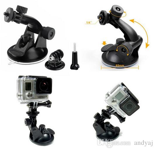 Mini Universal Car Suction Cup Mount Tripod Holder Car Mount for Car GPS DV DVR for gopro Camera