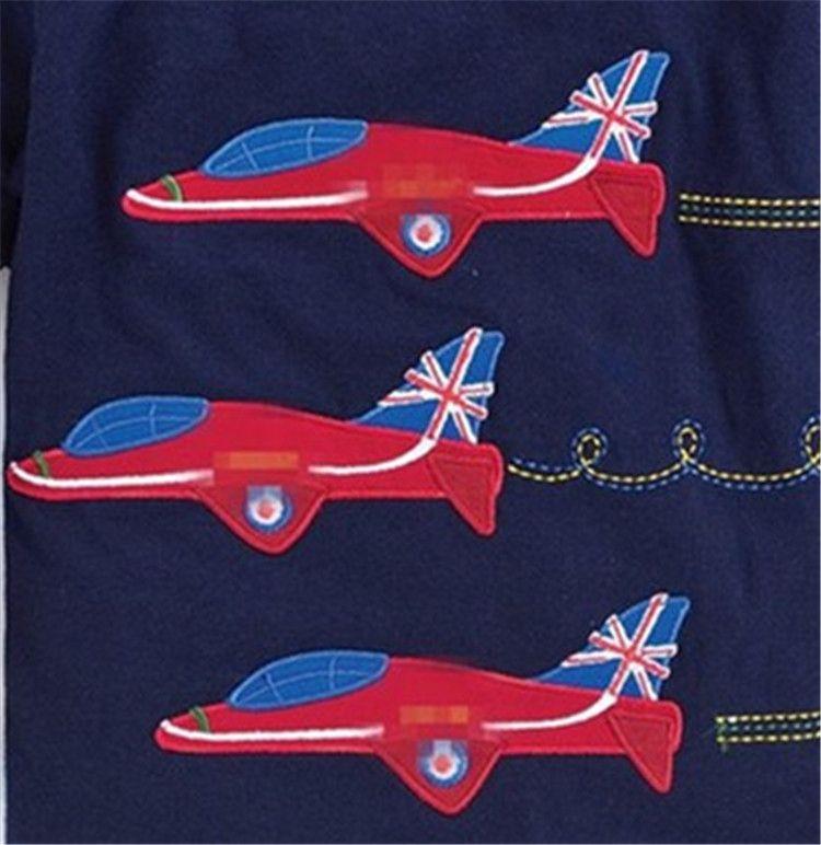 Serin Erkek T Shirt Uzun kollu Erkek giyim Çizgili Karikatür Helikopter Avrupa Yeni stil Sonbahar Bahar Alt Üst 1-6 T Toptan B11