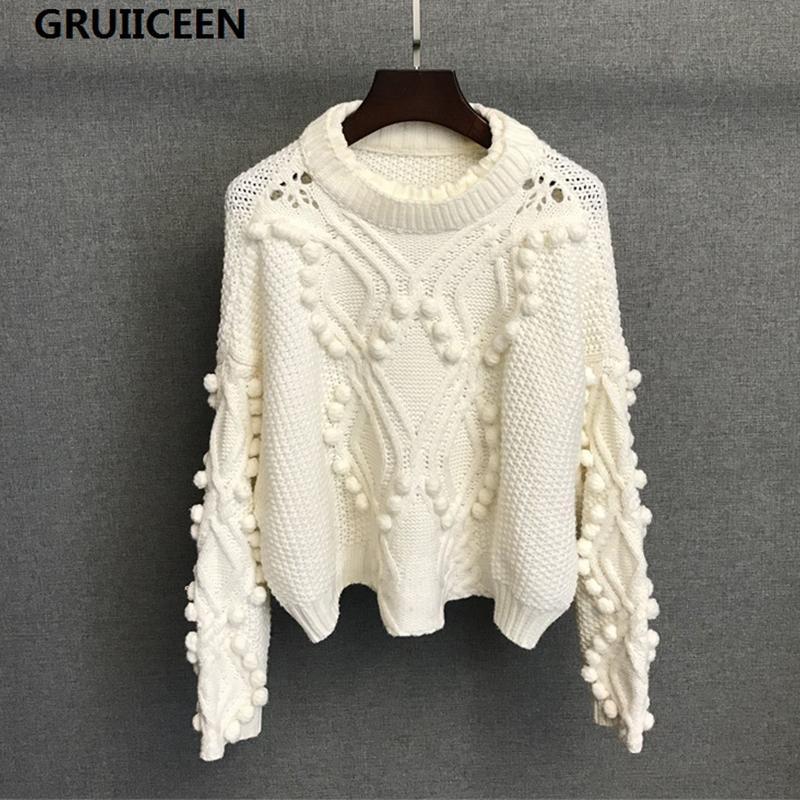 Großhandel Gruicienen Neue 2017 Marke Pullover Herbst Casual