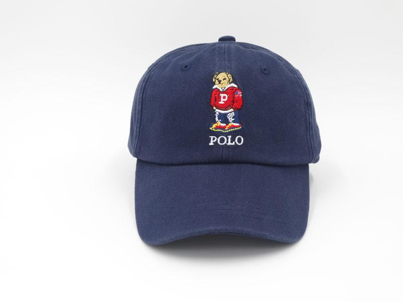 67e1feee7312e DHL Polo Bear Hats for Men Hip Hop Snapback Caps Visor Casquette ...