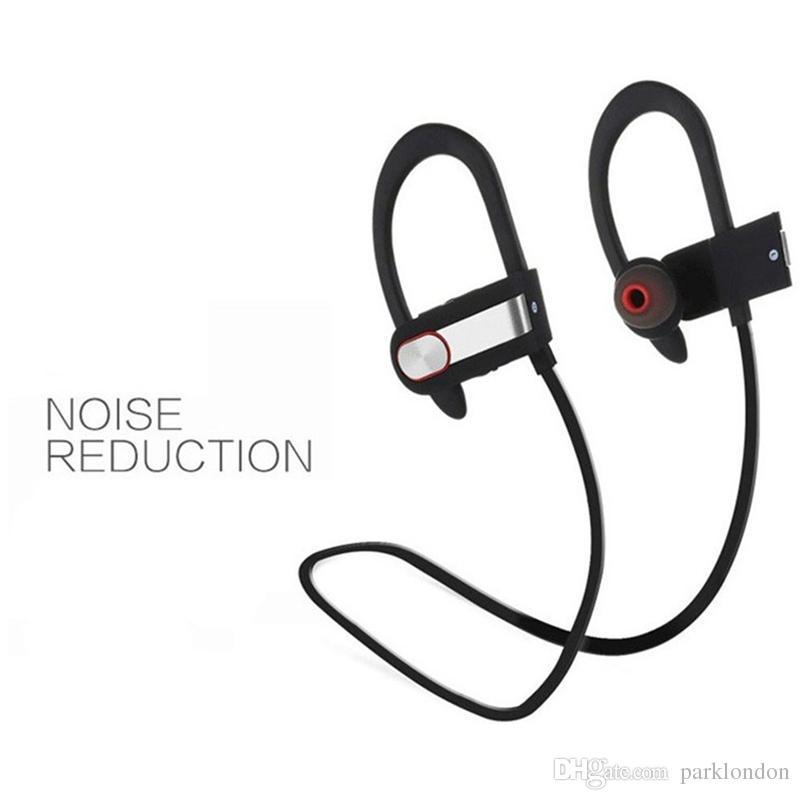DXVROC Bluetooth Headphone CSR8635 Wireless Sports Stereo Heavy Bass  Headset Bluetooth 4 1 Earphones Noise Cancelling Sweatproof with Mic